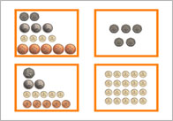 Coin Number Bonds - £1