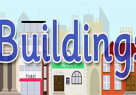 Buildings Display Poster