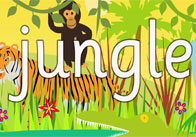 Jungle Display Poster
