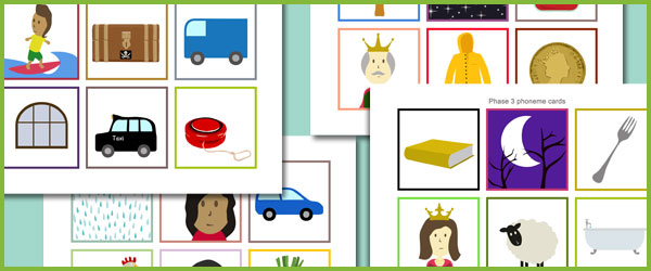 Phase 3 Phoneme Cards No Words Free Early Years