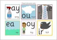 Phase 5 phoneme cards