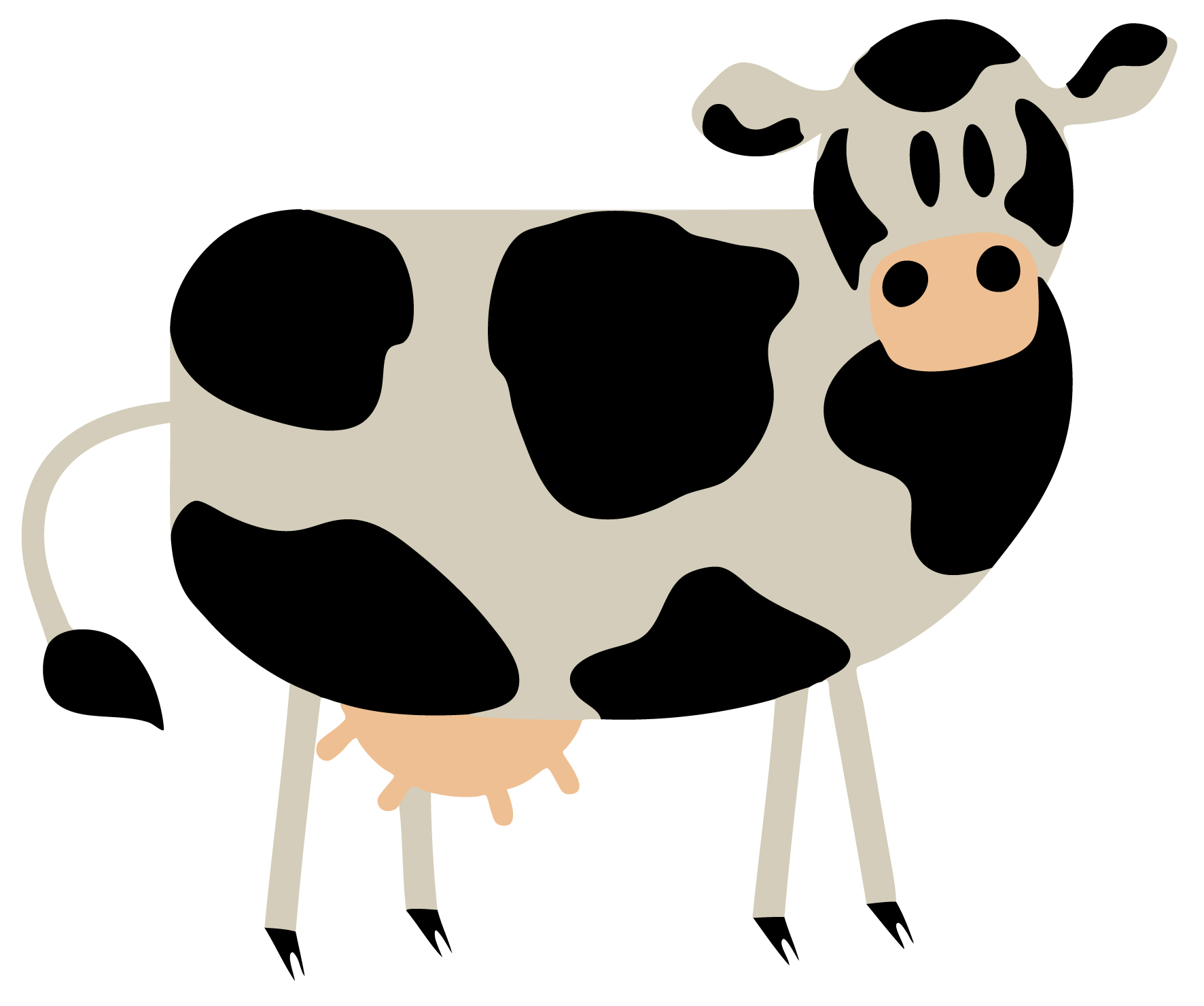 cartoon cow eyfs and ks1 free early years u0026 primary teaching