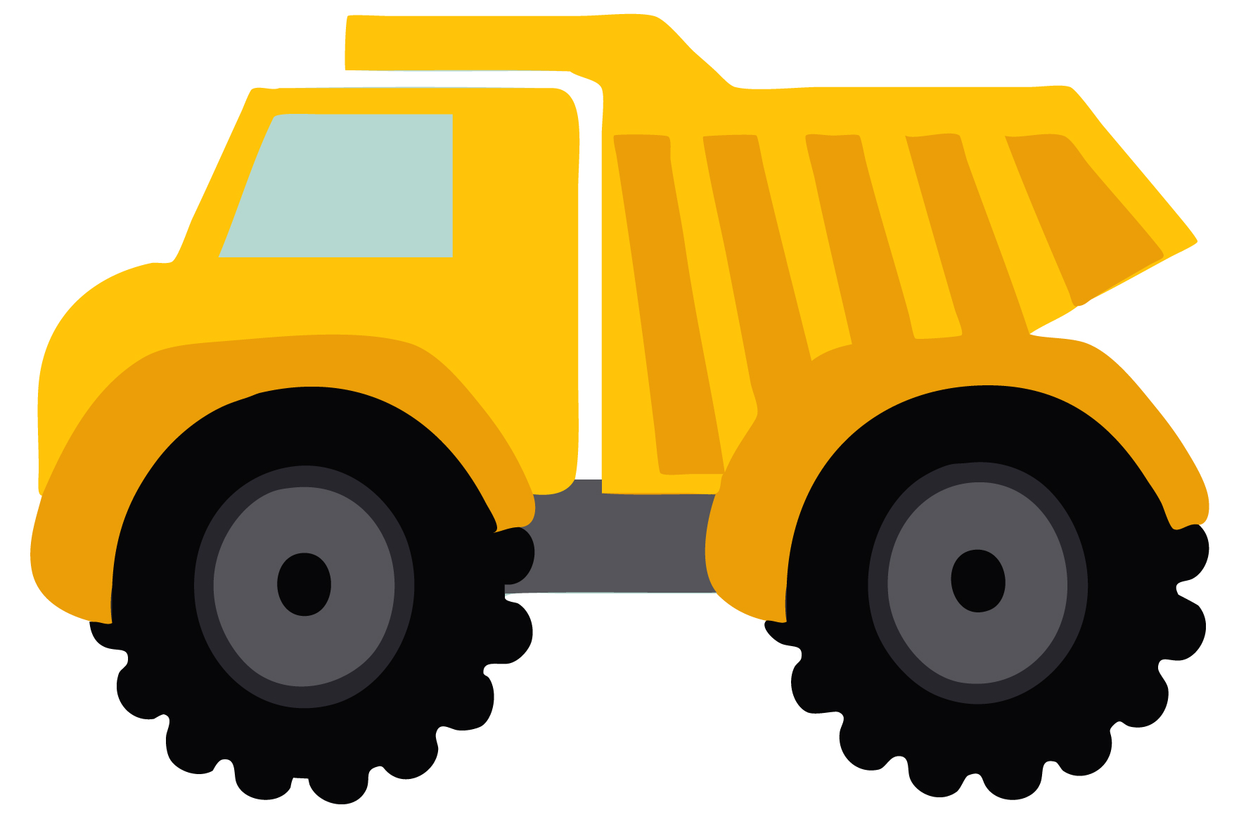 free clip art cartoon trucks - photo #43