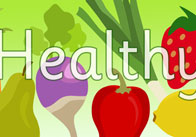 Healthy Eating Display Poster