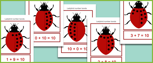 Ladybird Number Bonds | Free Early Years & Primary Teaching ...