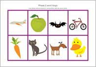 Letters sounds phase 2 phonic teaching resources free early phase 2 bingo spiritdancerdesigns Choice Image