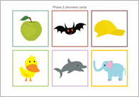 Phase 2 Phoneme Cards (no words)