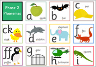 phase 2 phoneme mat thumb Phase 2 Phoneme Mat