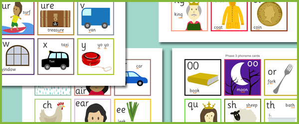 Phase 3 Phoneme Cards Free Early Years Amp Primary