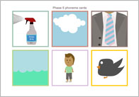 Phase 5 phoneme cards (no words)
