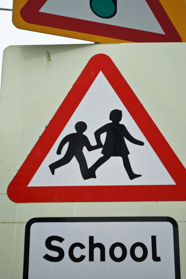 early learning resources school crossing sign