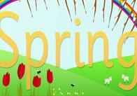 Spring Display Poster