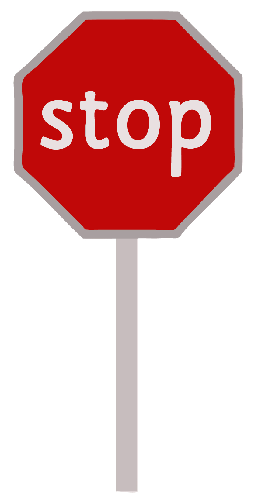 early learning resources stop sign