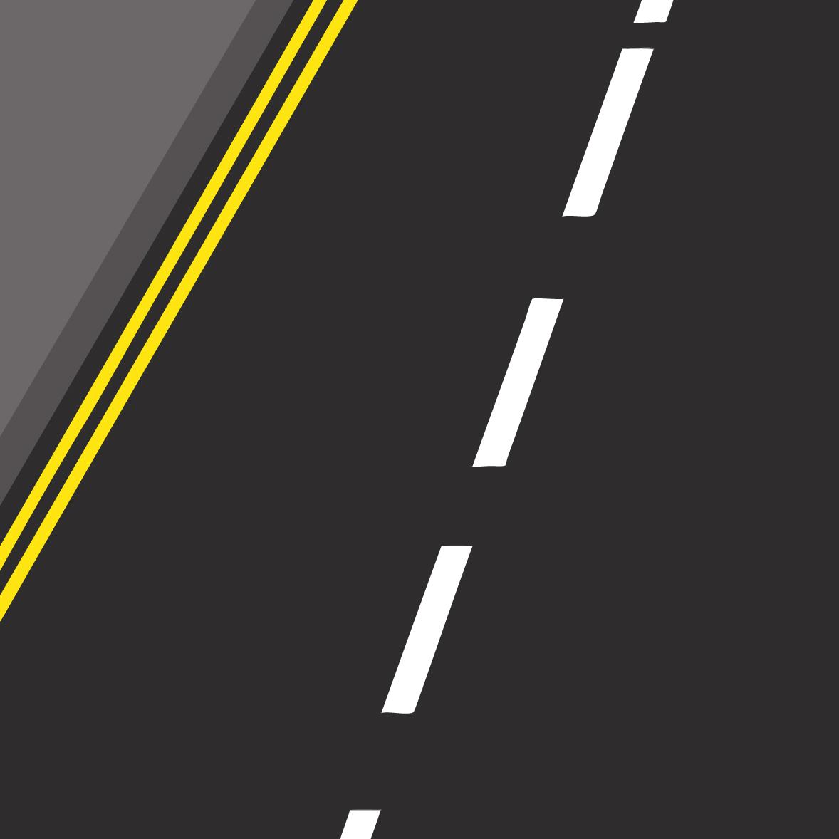 double yellow lines