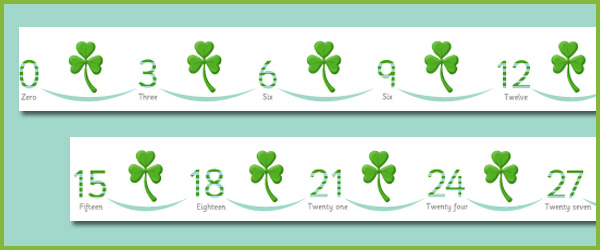 Counting in Threes (Clover)