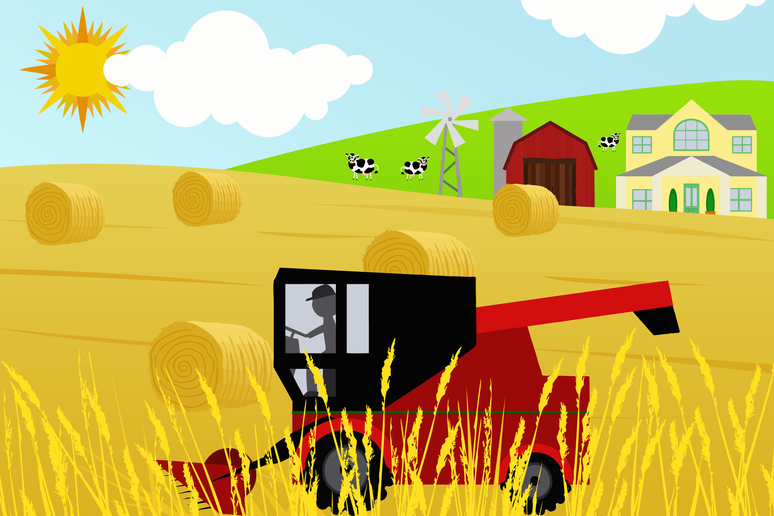 combine harvester in field free early years   primary Track and Field Events Clip Art Track and Field Events Clip Art