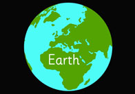 Earth thumb Planets   Editable Text