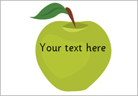 Fruit – Editable Text