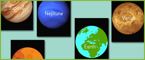 planet picture cards