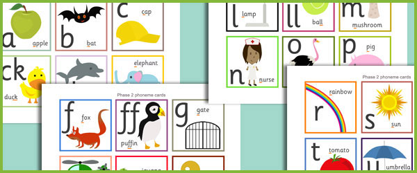 Phase 2 Phoneme Cards Free Early Years Amp Primary