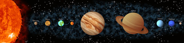 Diagram of the Solar System | Free Early Years & Primary ...