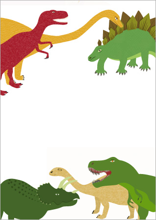 Dinasaur Themed Notepaper | Free Early Years & Primary ...
