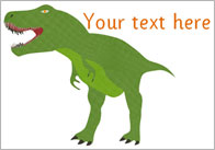Dinosaur Pictures – Editable Text
