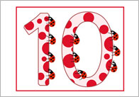 Minibeasts Themed Numbers