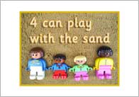 Playing with the sand – rules