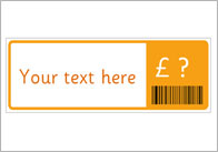 barcode thumb Editable label with Barcode