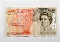£50 note