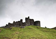 Photograph of a Ruined Castle