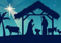 Christmas Nativity Display Poster