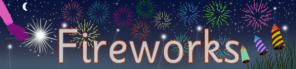fireworks display poster free early years primary teaching