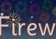 Fireworks Display Poster