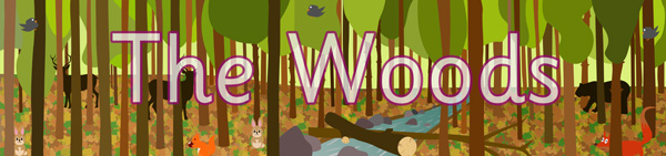 The Woods Display Poster
