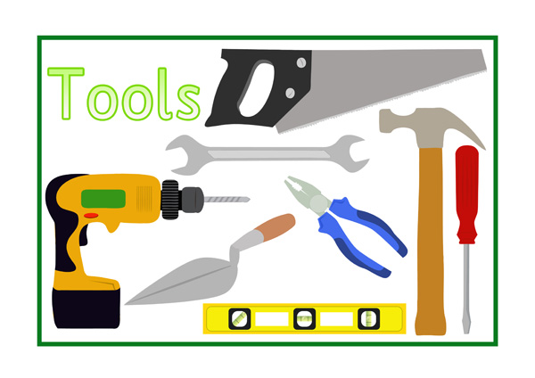 Tools Poster Free Early Years amp Primary Teaching