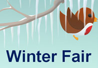 Editable Winter Fair Poster