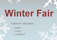 Editable Winter Fair Poster 2