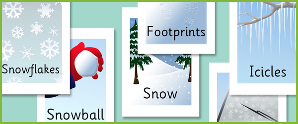 editable winter words