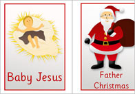 Editable Christmas Words