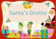 Editable Santa's Grotto Poster