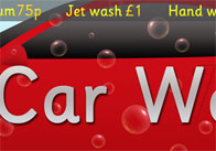 Car Wash Role-Play Poster