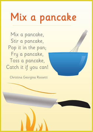 Early Learning Resourcess Mix A Pancake Poster