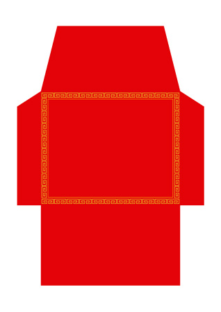 red envelope template ideal