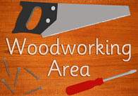 Woodworking Area Sign