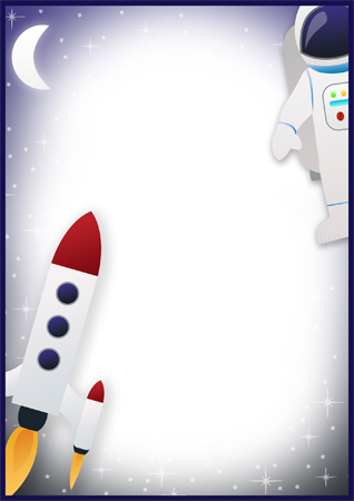 space themed writing paper A collection of free a4 page borders and writing frames for editable page borders writing frames on a variety of different popular early years themes.