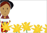 St David's Day Themed Notepaper