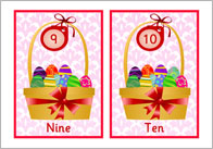 Easter Numberline