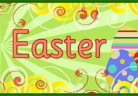 Large Easter Display Poster 2